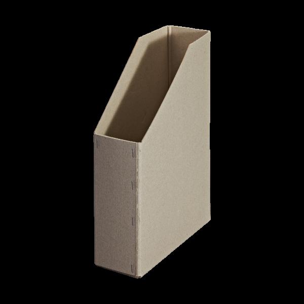 Stehsammler aus Pappe. Sehr stabil und umweltfreundlich.